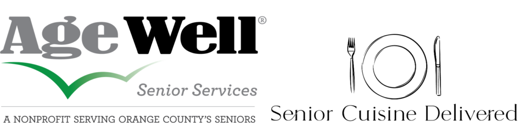 Senior Cuisine Delivered™ administered by Age Well Senior Services logo